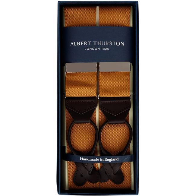 Albert Thurston Braces Almond Brown