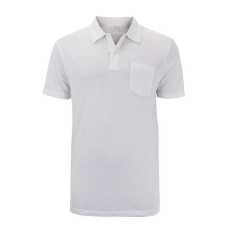 Sunspel Polo Shirt White Riviera