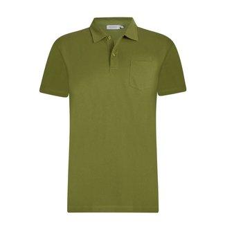 Sunspel Polo Shirt Green Riviera