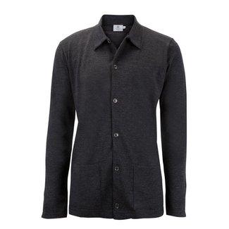 Sunspel Jacket Grey Vintage Wool