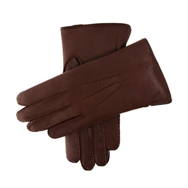 Dents Leder Handschuhe Braun Pembroke