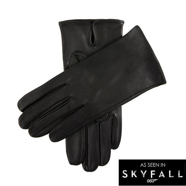 Dents Unlined Sheepskin Gloves Black James Bond Skyfall