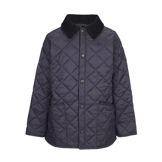 Barbour Boys Liddesdale Quilt Jacket Navy