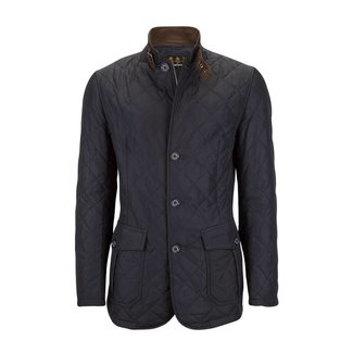 Barbour Steppjacke Lutz Dunkelblau