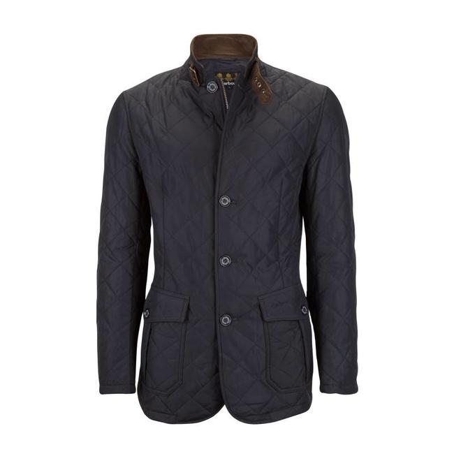 Barbour Quilted Lutz Jas Navy