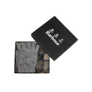 Barbour Geschenkset Sjaal & Handschoenen Modern Tartan