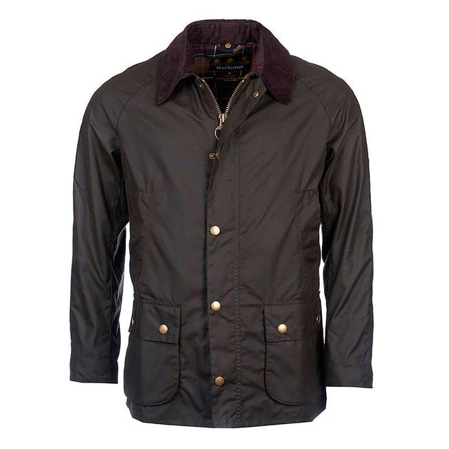 Barbour Wachsjacke Ashby Oliv