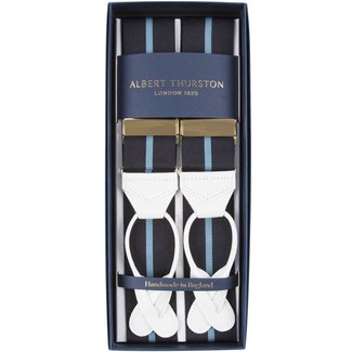 Albert Thurston Braces Eton Blue