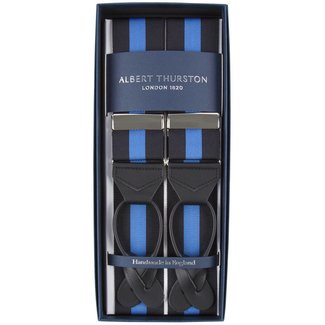 Albert Thurston Braces Black Blue