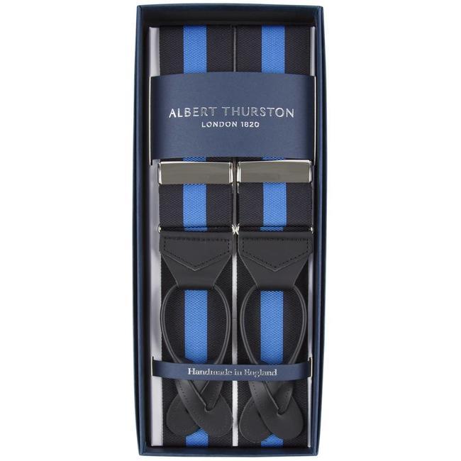 Albert Thurston Bretels Zwart Blauw
