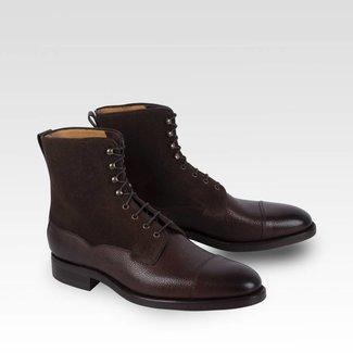 Carlos Santos Field Boots Grain & Suede