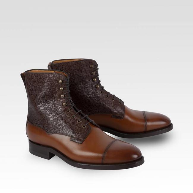 Carlos Santos Field Boots Calf & Grain