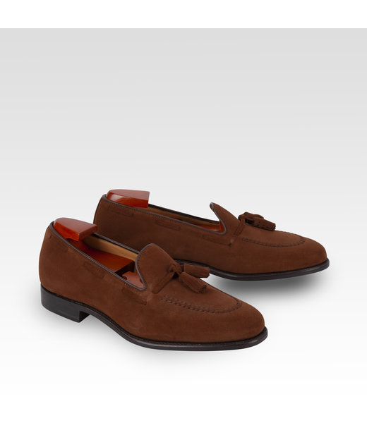 Tassel Loafer Polo Brown Suède