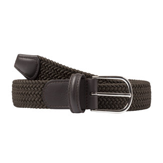 Anderson's Woven Stretch Belt Dark Green