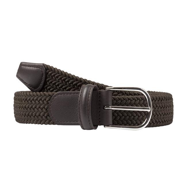 Anderson's Woven Stretch Belt Dark Green