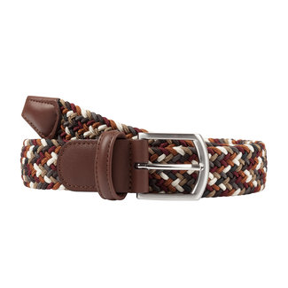 Anderson's Woven Stretch Belt Brown Mix