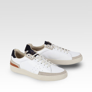 L'Ascolana Casetta Sneakers Wit & Navy
