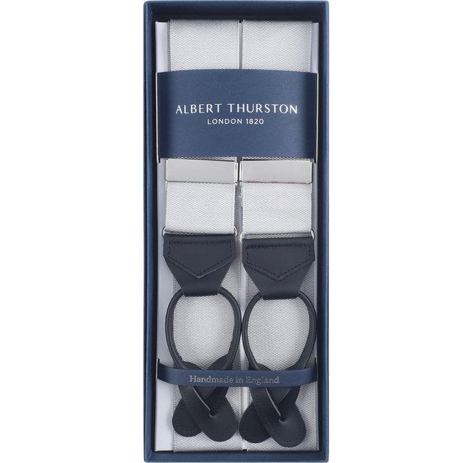 Albert Thurston Braces Light Grey