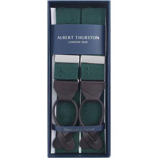 Albert Thurston Hosenträger Grün französische Lilie