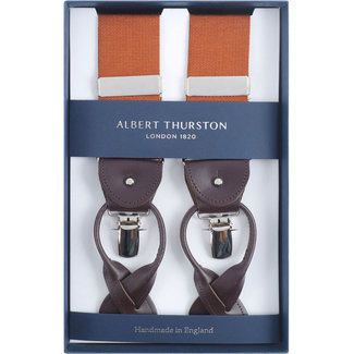 Albert Thurston Braces Rust Brown
