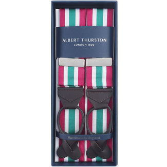 Albert Thurston Braces Red White Green