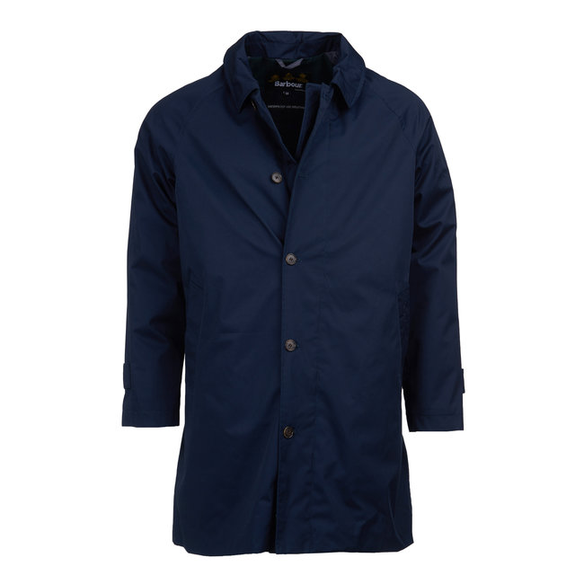 Barbour Maghill Regenjas Navy