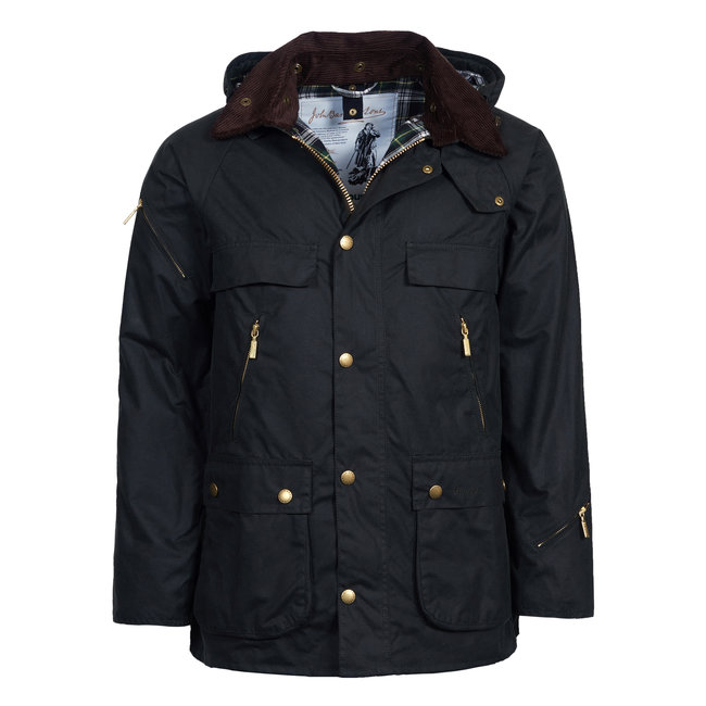 Barbour Icons Bedale Wachsjacke Sage Dunkelgrün