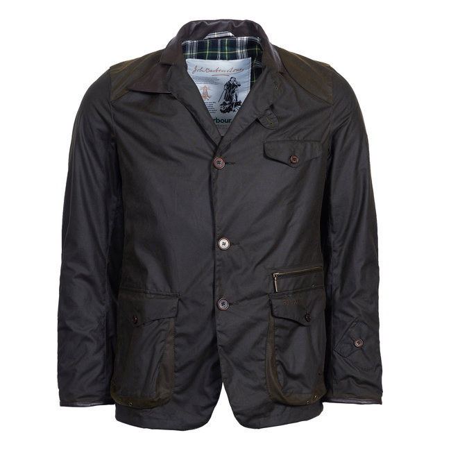 Barbour Icons Beacon Sports Wachsjacke Olivgrün