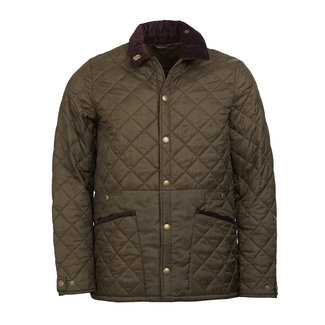 Barbour Icons Liddesdale Quilt Jacket Olive