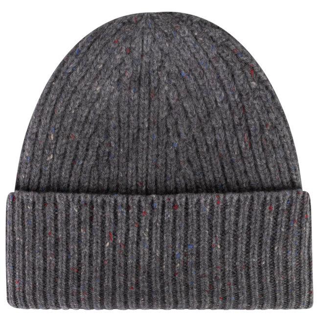 William Lockie Donegal Geelong Wolle Mütze Grau