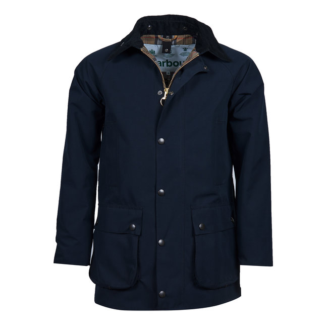 Barbour SL Beaufort Casual Jacket Navy - White Label