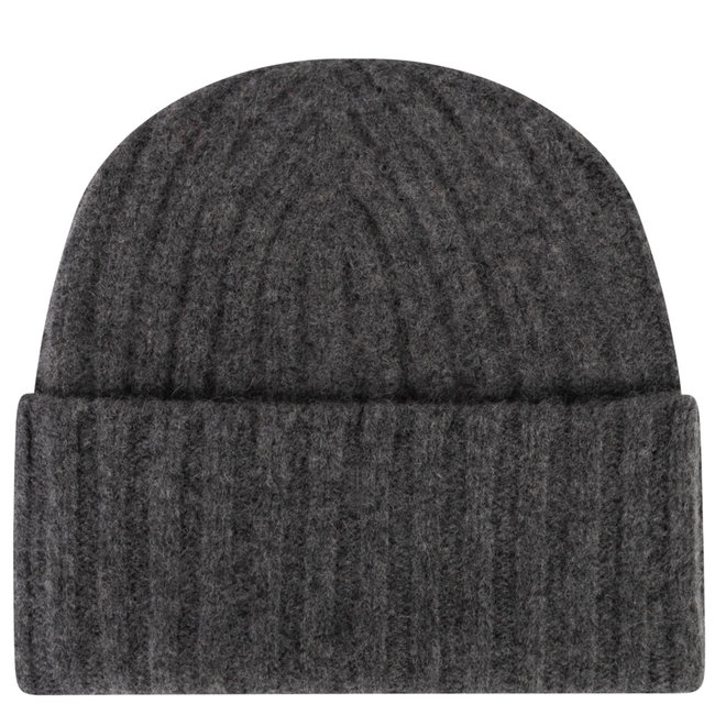 William Lockie Geelong Beanie Charcoal