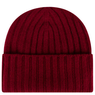 William Lockie Geelong Beanie Burgundy