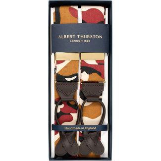 Albert Thurston Hosenträger Khaki Camouflage