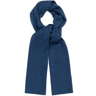 William Lockie Donegal Geelong Scarf Blue