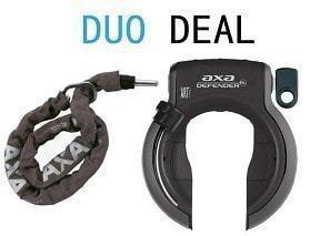 AXA Duo Deal AXA Defender Ringslot +RLC 140 insteekketting