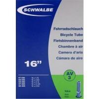"Binnenband Schwalbe AV3 16"" - 40mm Ventiel"