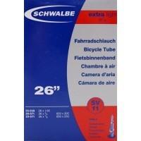 "Binnenband Schwalbe SV11 Extra Light 26"" - 40mm Ventiel"