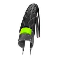 Buitenband Schwalbe Marathon GreenGuard 32-622 - Zwart met Reflectie
