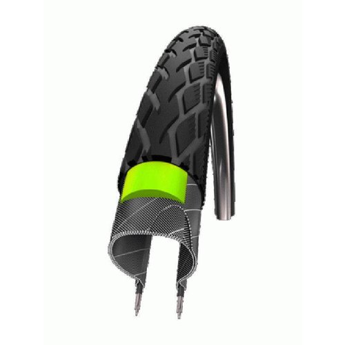 Schwalbe Buitenband Schwalbe Marathon GreenGuard 37-590 - Zwart met Reflectie