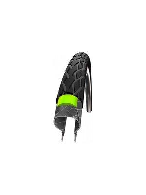 Schwalbe Buitenband Schwalbe Marathon GreenGuard 40-406 - Zwart met Reflectie