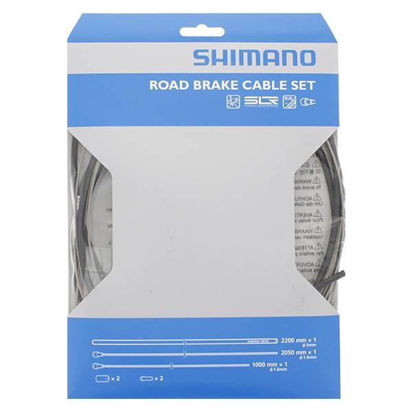 Shimano complete PTFE remkabelset voor de racefiets