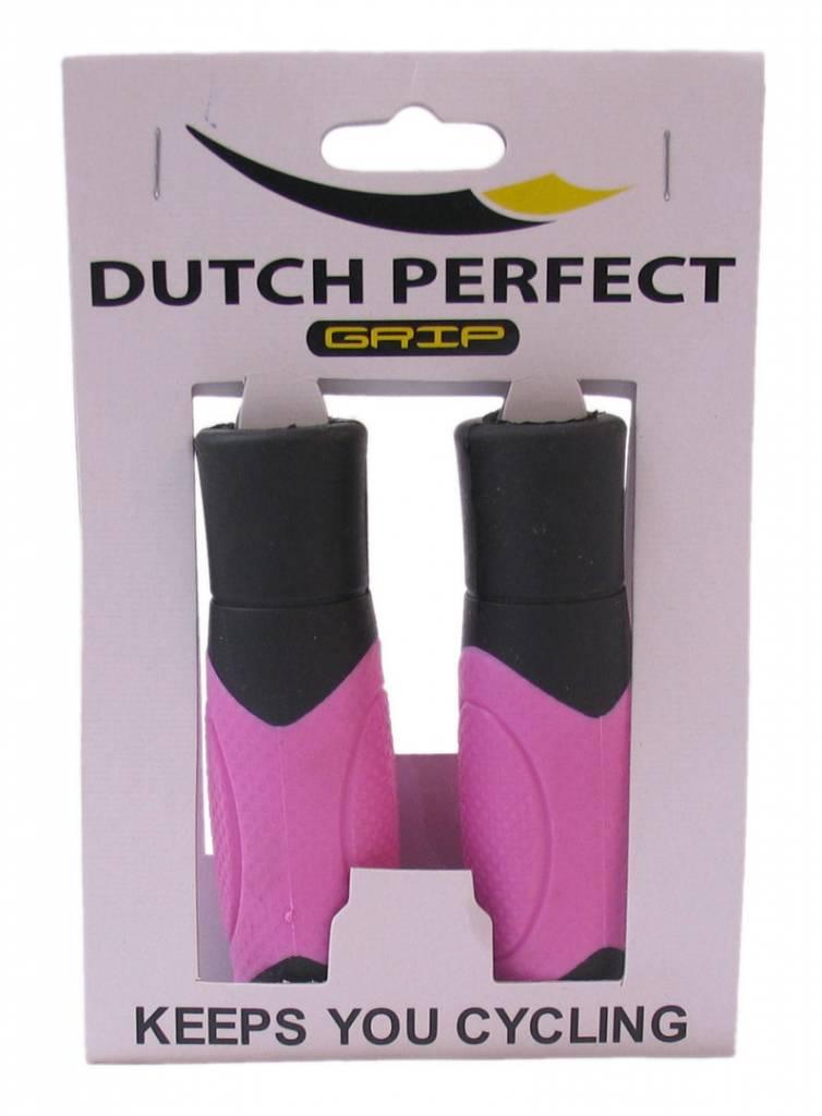 Dutch Perfect Handvat 215 Comfort 120mm Roze Per Paar