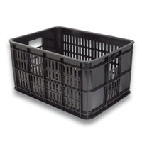 Krat Basil Crate-S Klein 25Ltr - Zwart