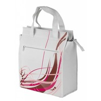 Tas Shopper M-Wave White-Fancy