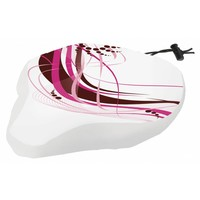 Zadeldek M-Wave White-Fancy