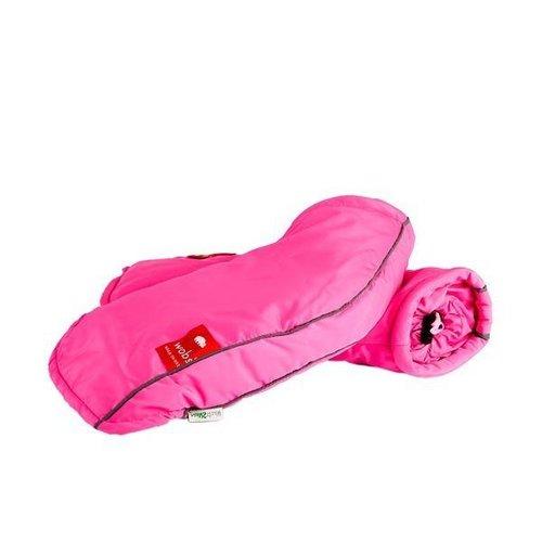 Wobs Wobs Handwarmers Fluo Pink - Handrem Versie