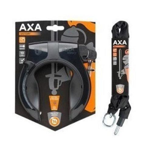 AXA Duo Deal AXA Victory Ringslot + RLC100 insteekketting - Zwart