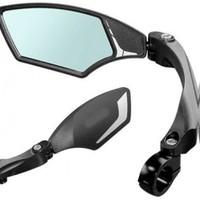 Mirage Speed Pedelec Fietsspiegel Links - Zwart