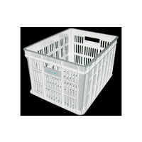 Fietskrat Edge Urban Crate - Medium - Wit